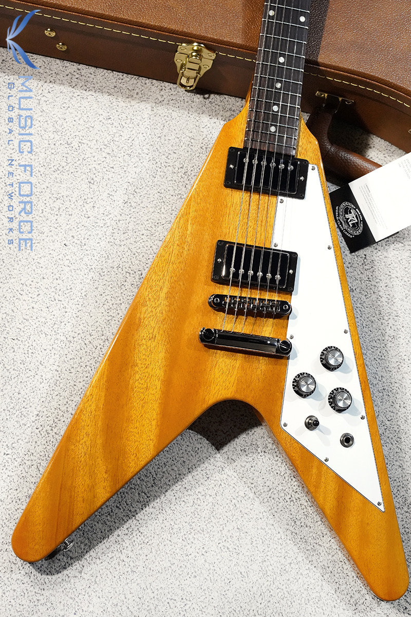 Gibson USA Flying V-Antique Natural(신품) - 201000213