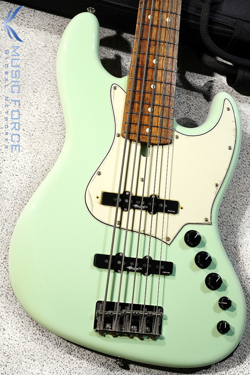 Alleva Coppolo LG5 Classic Supreme(Lacquer Finish) Alder Body-Surf Green w/Australian Blackwood FB & Matching Headstock(2018년산/신품)