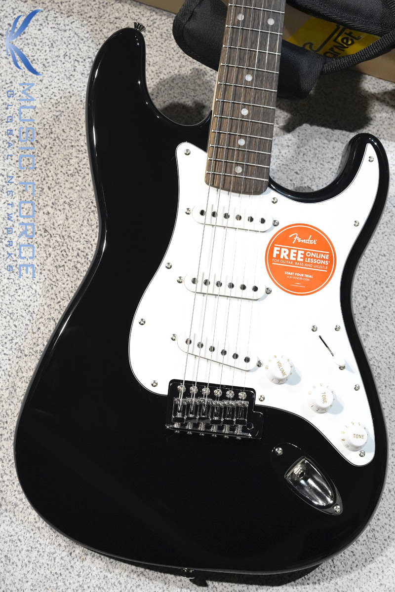 [특별세일] Squier Affinity Stratocaster SSS-Black w/Indian Laurel FB (2020년산/신품)
