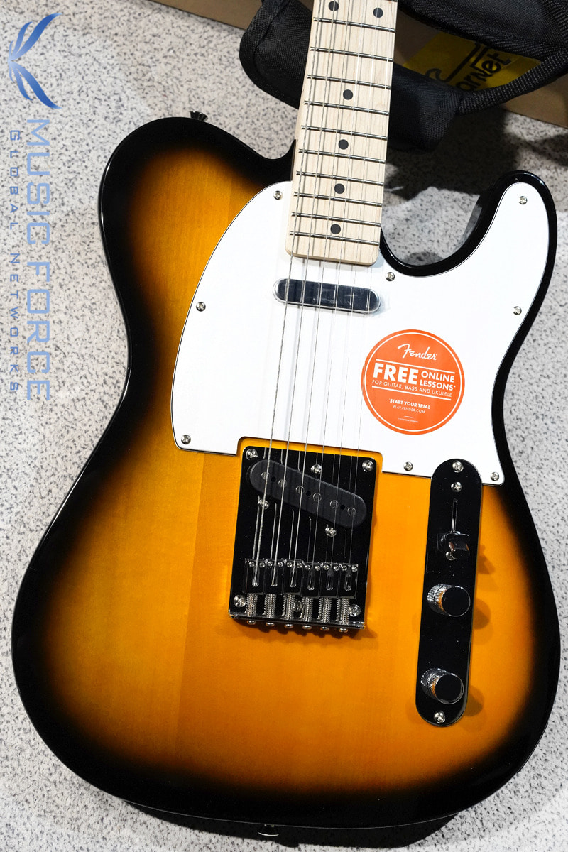 [특별세일] Squier Affinity Telecaster-2TSB w/Maple FB (2020년산/신품)