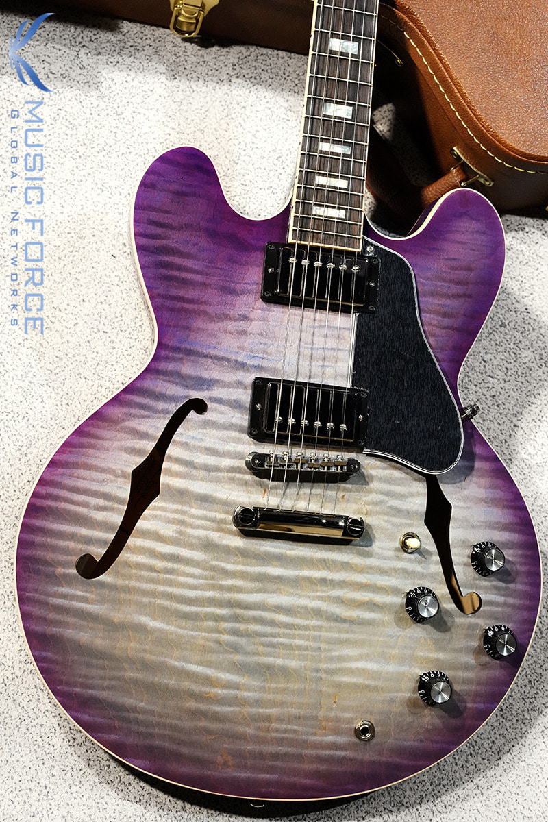 [특별세일] Gibson Memphis 2019 Model ES-335 Figured-Purple Burst(신품) - 11878704