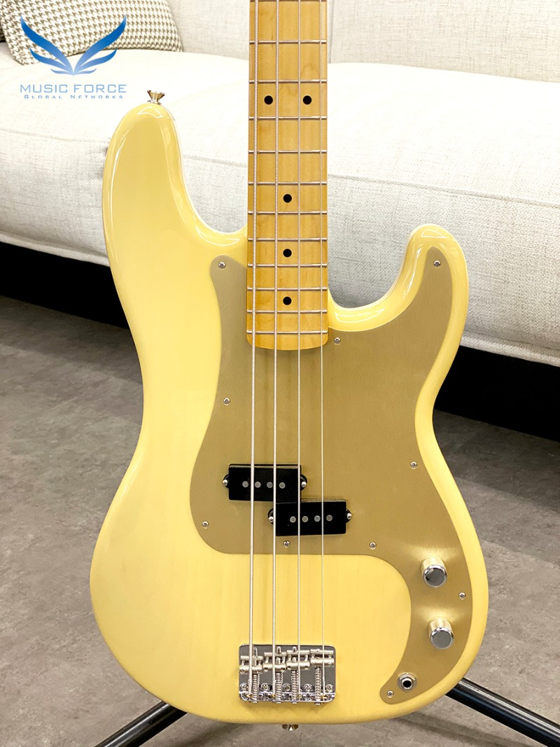 Fender Mexico Vintera Series 50s Precision Bass-Vintage Blonde w/Maple FB (2019년산/신품) 펜더 멕시코 빈테라 50 프레시전 베이스