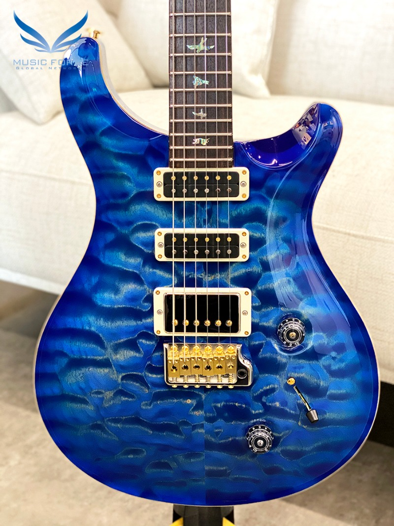 PRS Wood Library Studio Limited-Faded Blue Burst w/10 Top Quilt, East Indian Rosewood FB & Hybrid HW(2018년산/신품) - 250172