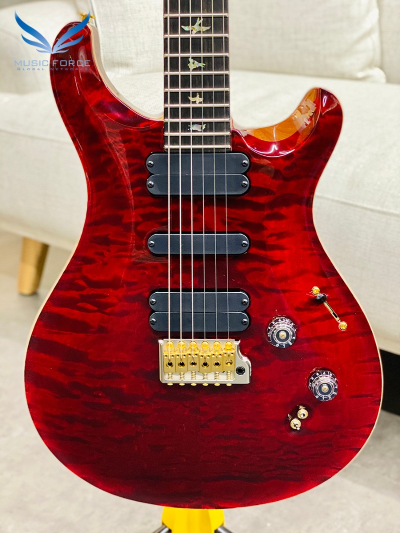 [파이널세일(~12/31까지)] PRS Wood Library 509 Limited-Red Tiger w/Quilt Maple 10 Top, Ebony FB & Hybrid HW(2018년산/신품) - 259608