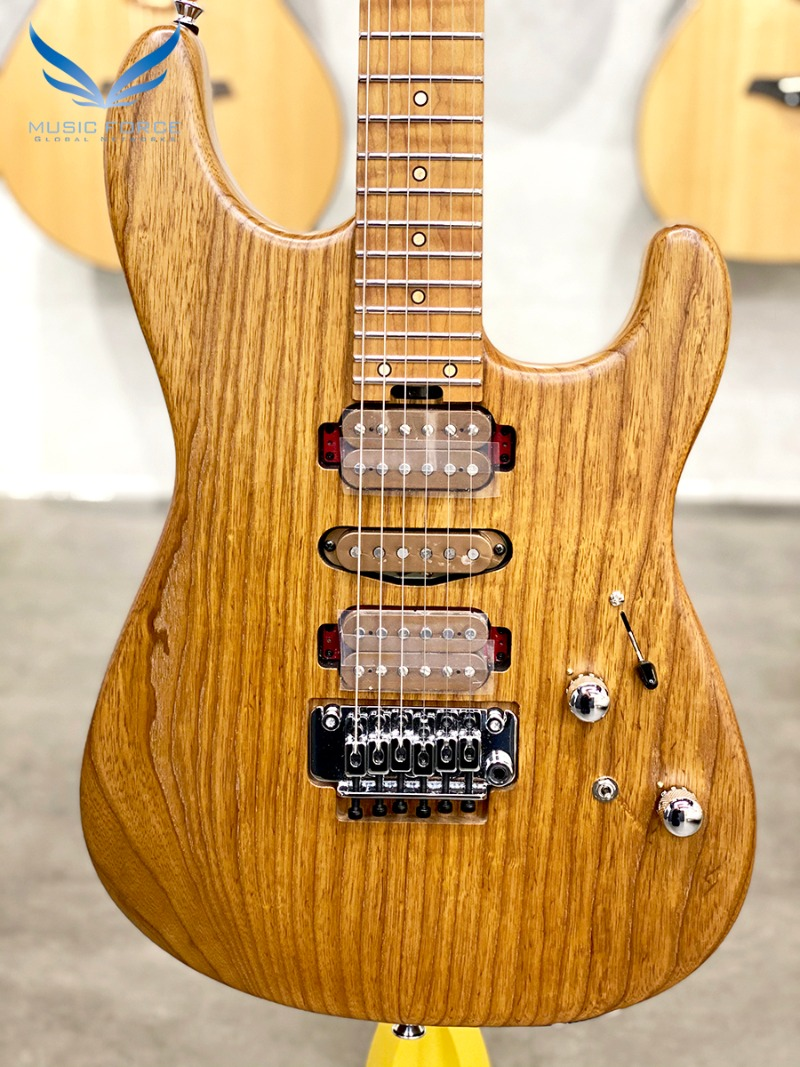 Charvel Artist Series Guthrie Govan Signature HSH Caramelized Ash-Natural w/Caramelized Flame Maple Neck(2020년산/신품)