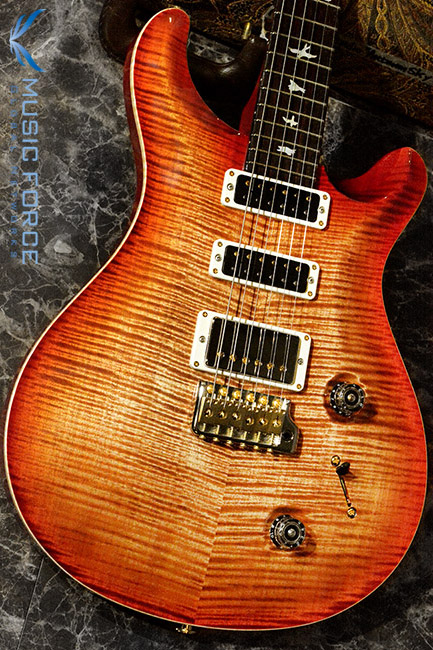 PRS Wood Library Studio Limited-Autumn Sky w/10 Top Flame, Cocobolo FB & Hybrid HW(2017년산/신품)