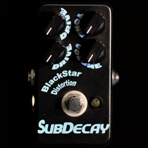 [중고]Subdecay Black Star Hi Gain Distortion