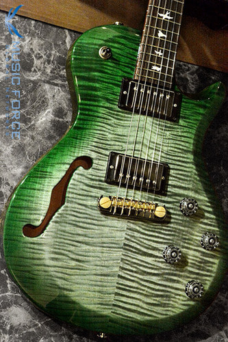 PRS S2 Singlecut Semi Hollow Limited Run-Custom Color Moss Green #2(2017년산/신품)