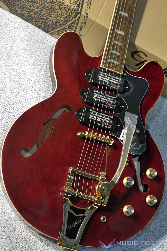 Epiphone Riviera Custom P93 Limited Edition-Wine Red(2018년산/신품)