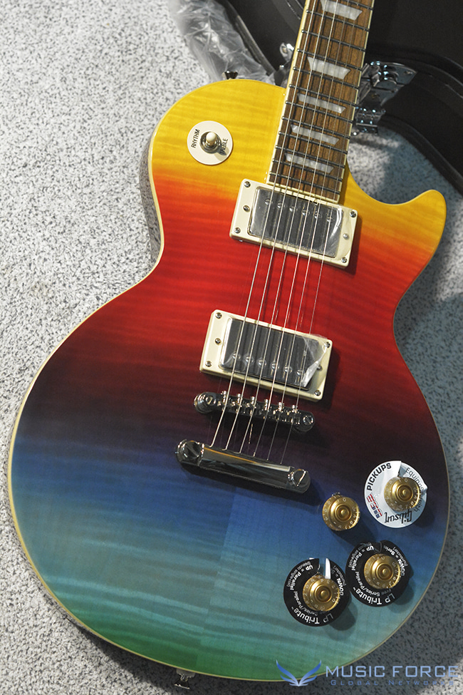 Epiphone Les Paul Tribute Prizm Plus Outfit-Rainbow Finish(신품)