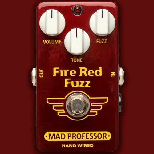 Mad Professor Fire Red Fuzz(Handwired Custom 버전)