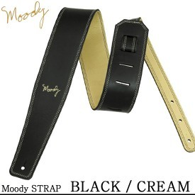 Moody 2.5 Black/Cream Leather Std