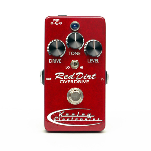 [가격인하]Keeley Red Dirt Overdrive