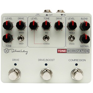 Keeley Tone Workstation Comp/Drive/Boost Analog Multi-effects Pedal