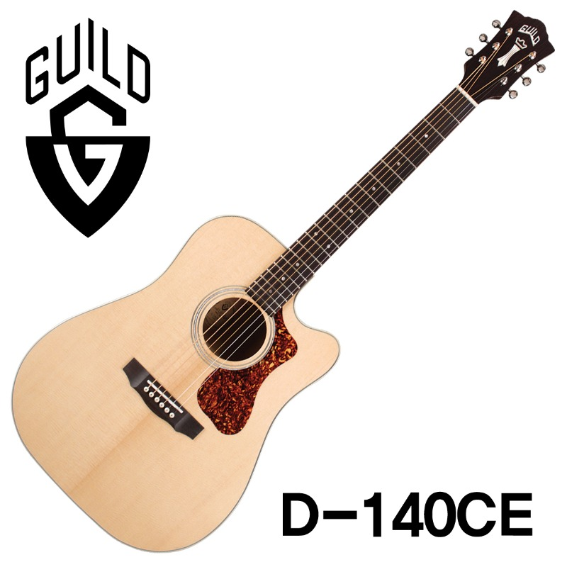 [길드공식대리점/매장 실재고보유!!] Guild Westerly Collection Series D-140CE w/Fishman Sonitone GT-1 Pickup(신품) 길드 D140E