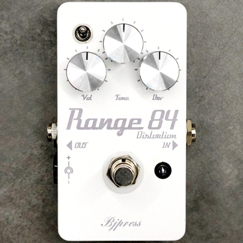 BJPRESS The Range84 Distortion-White Finish Limited Run