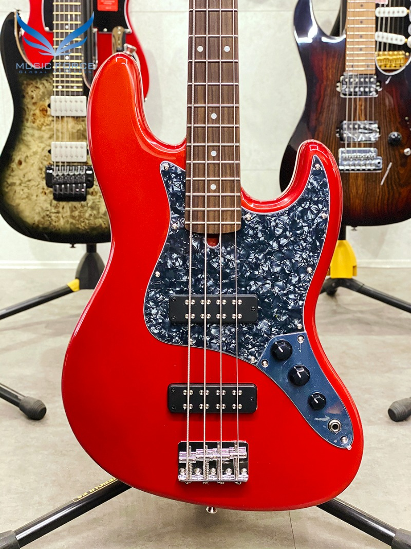 Bacchus Universe Series BJB-2R-Candy Apple Red w/Rosewood FB (신품)