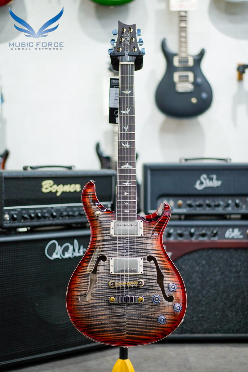 PRS McCarty 594 Hollowbody II-Charcoal Cherry Sunburst (2021년산/신품)-0318630